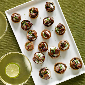 Sirloin-Stuffed Mushrooms