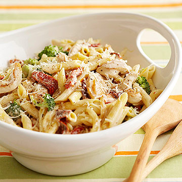 Creamy Chicken And Penne