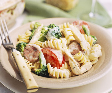 Chicken-Broccoli Alfredo