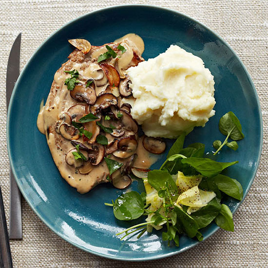 Fillet of Veal with Mushrooms