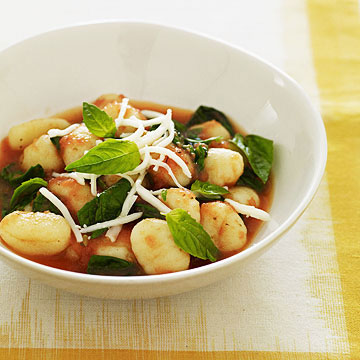 Gnocchi with Tomato Sauce