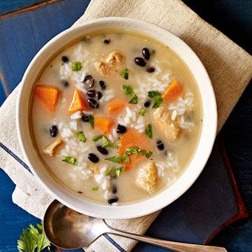 Caribbean Turkey and Sweet Potato Soup