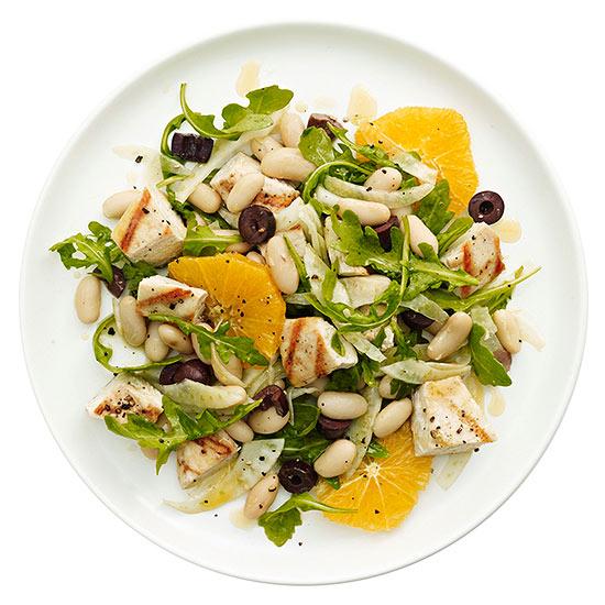 Chicken, Fennel and Orange Salad