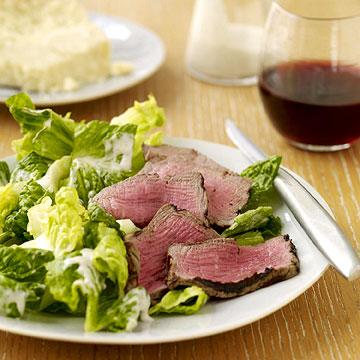Caesar Salad with Steak