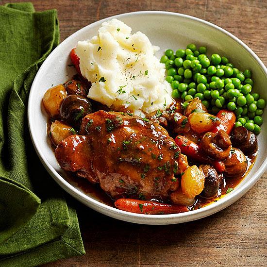 Red Wine Braised Chicken