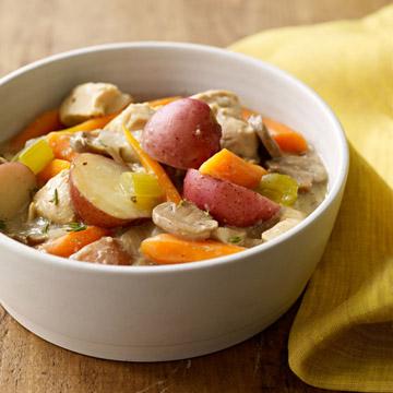 Slow-Cooker Harvest Chicken & Potatoes