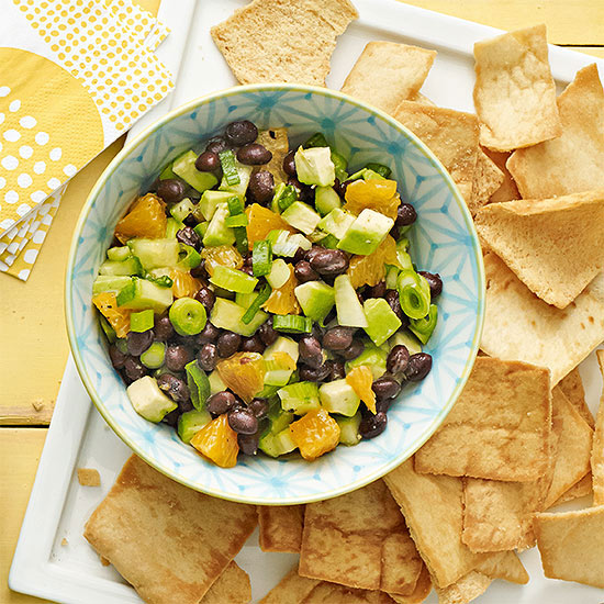 Black Bean and Avocado Dip