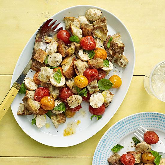 Roasted Tomato Panzanella