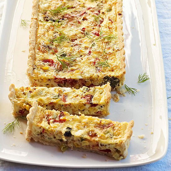 Rustic Grilled Vegetable Tart