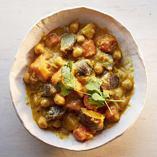 Curried Root Vegetable Stew