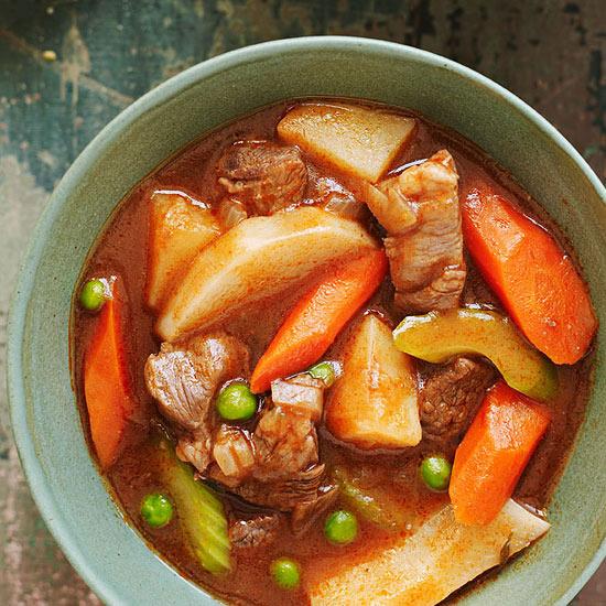 Slow-Cooker Irish Lamb Stew