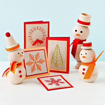 Greeting Cards and Snowmen