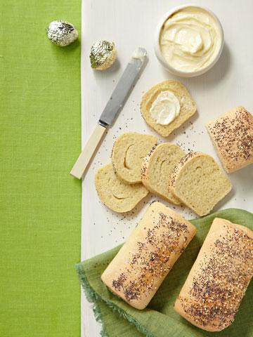 Poppy-Sesame Party Loaves