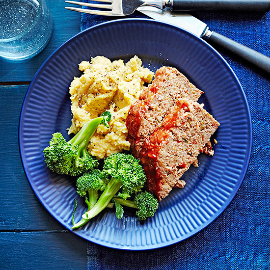 Grass-Fed Ground Beef Meatloaf