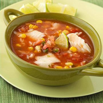 Zesty Fish Soup