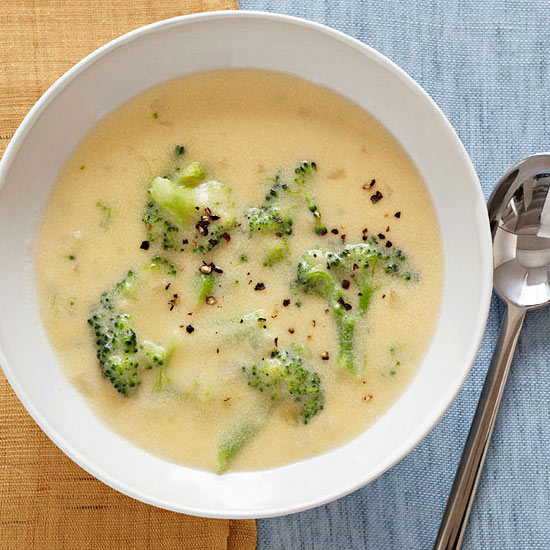 Slow-Cooker Creamy Broccoli Soup