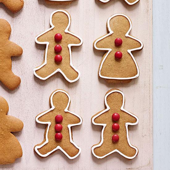 Maple Gingerbread Cookies