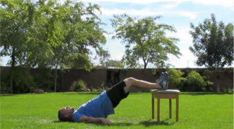Powell's 4-Minute Workout: Thursday