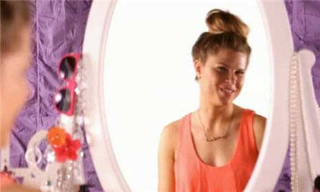 Pretty Prom Hair: How to Make a Zipper Braid with a Big Bun