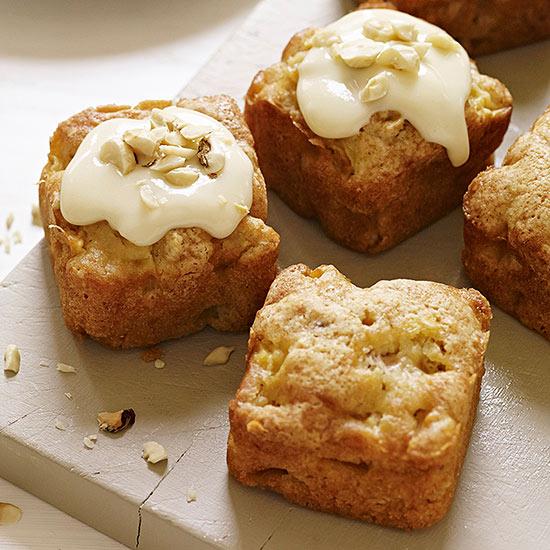 Apple Hazelnut Blondies