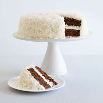 Chocolate-Coconut Cake
