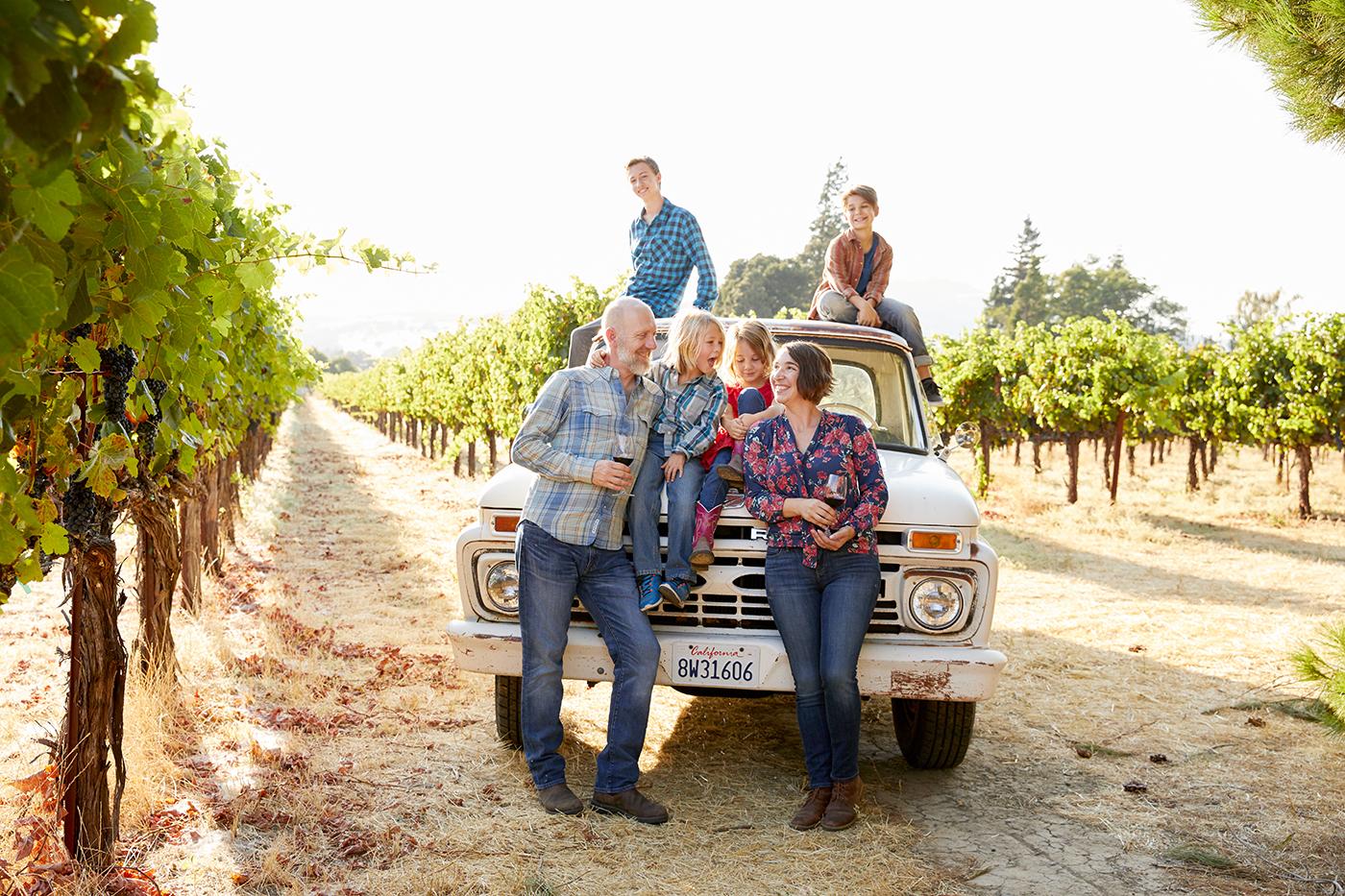 Modern Life Winemaking Family