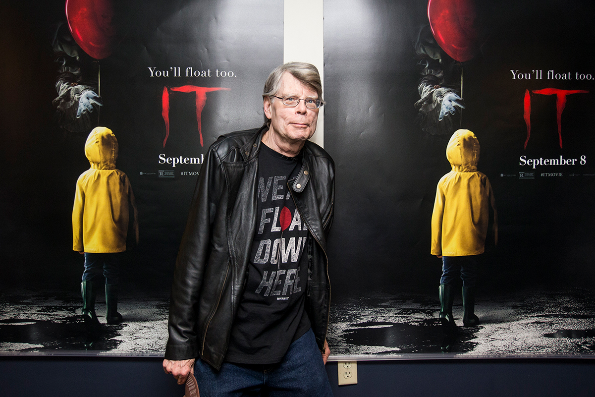 IT movie with Stephen King