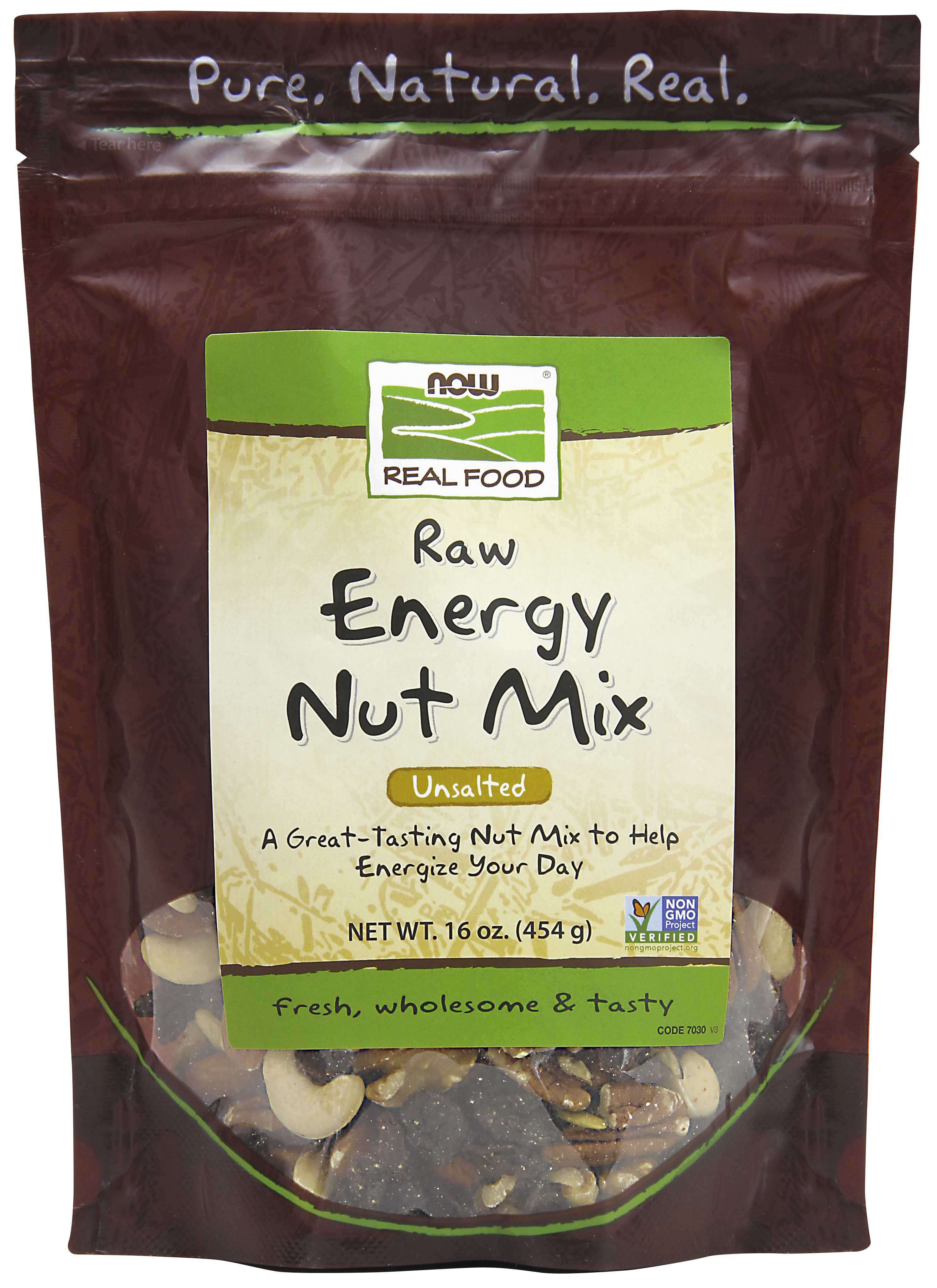 NOW Raw Energy Nut Mix