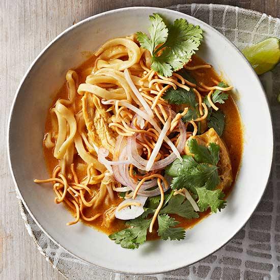 Coconut Curry Noodle Soup