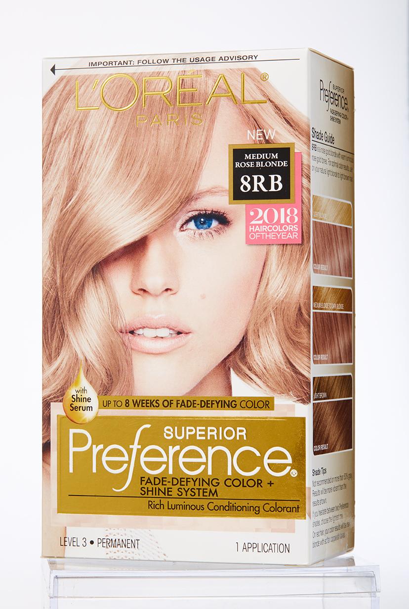 Hair Dye Box Preference