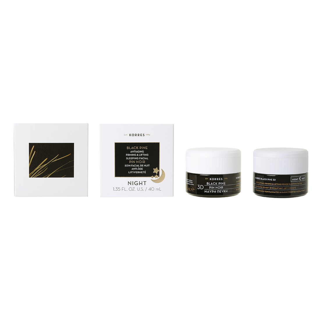 Korres Black Pine AntiAging, Firming & Lifting Sleeping Facial