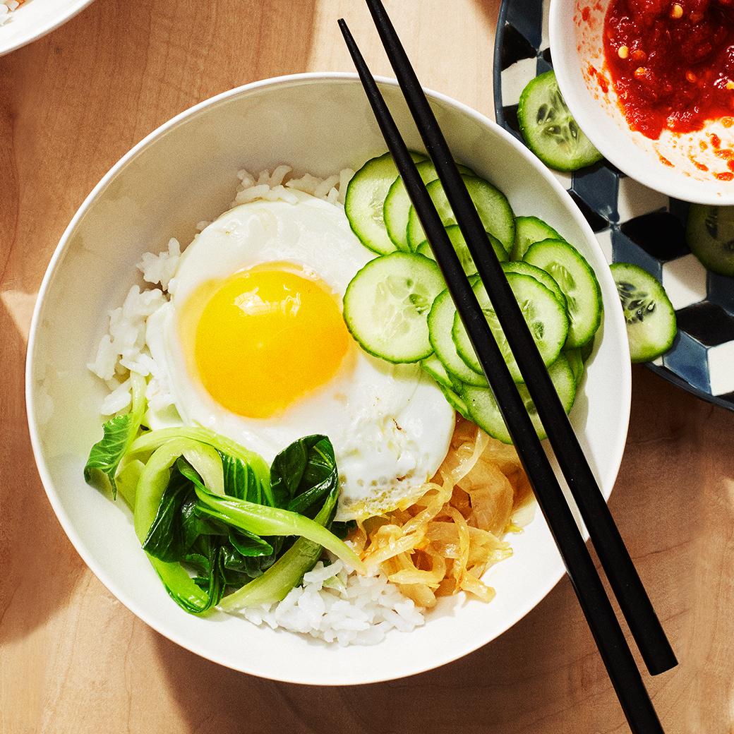 Rice and Veggie Bowl