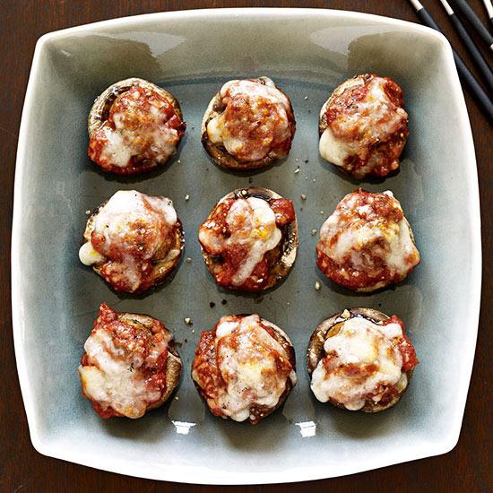 Meatball Parm Mushrooms