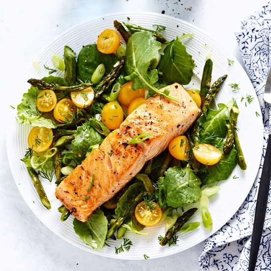 Roasted Salmon and Asparagus