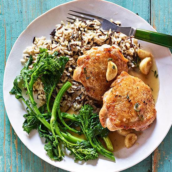 40-Clove Garlic Chicken