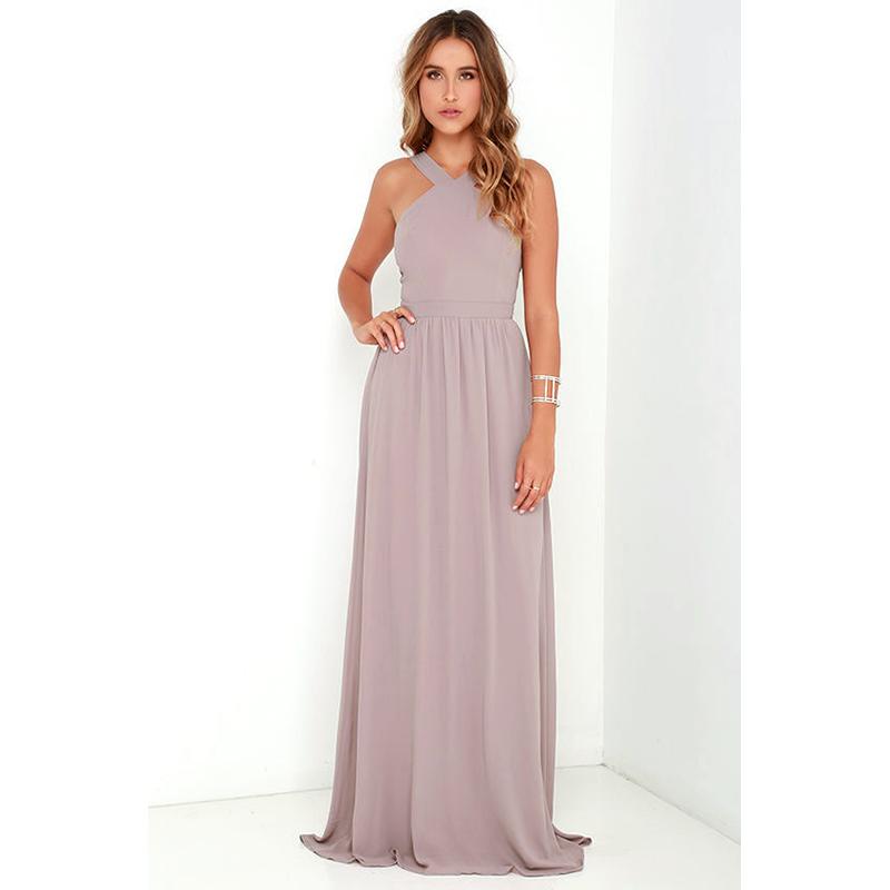 Lulu's Mauve Prom Dress