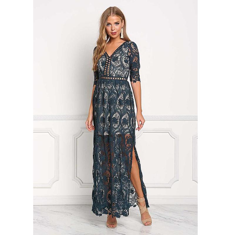 Love culture lace prom dress