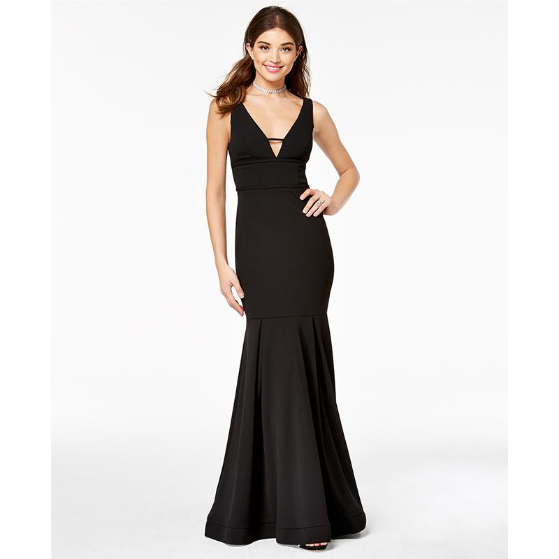 Macy's black prom dress