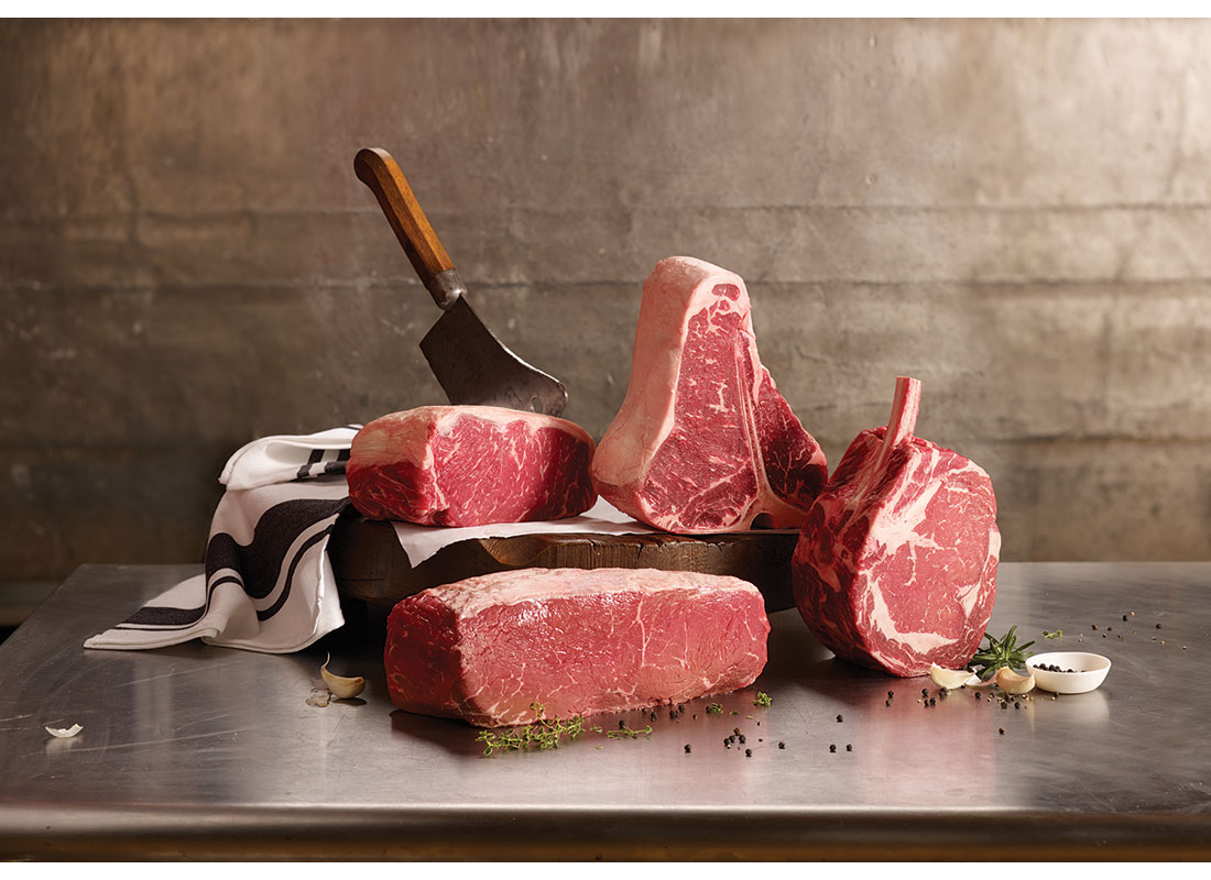 The King's Court steaks
