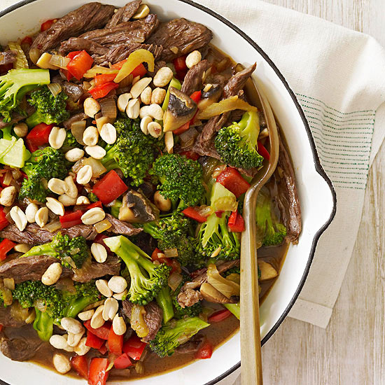Kung Pao Steak & Vegetables