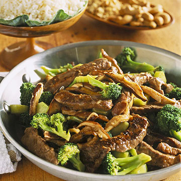 Beef Sirloin and Broccoli Stir-Fry