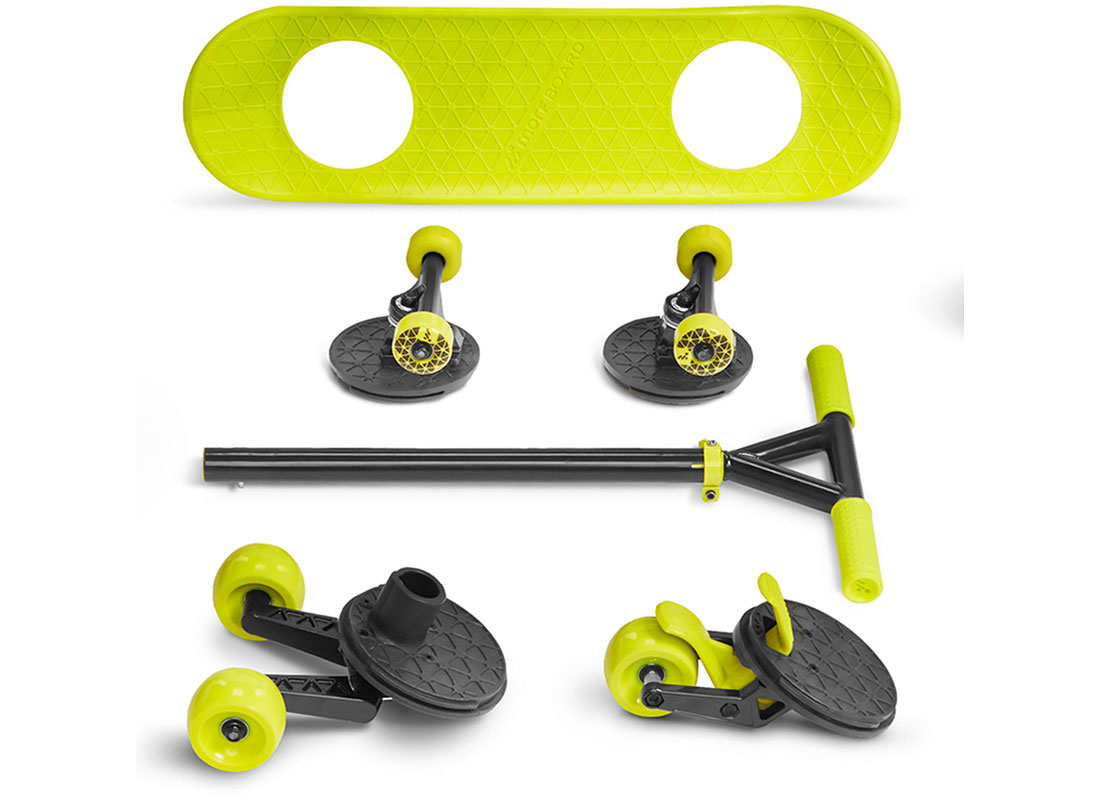 MorfBoard Skate/Scoot Combination
