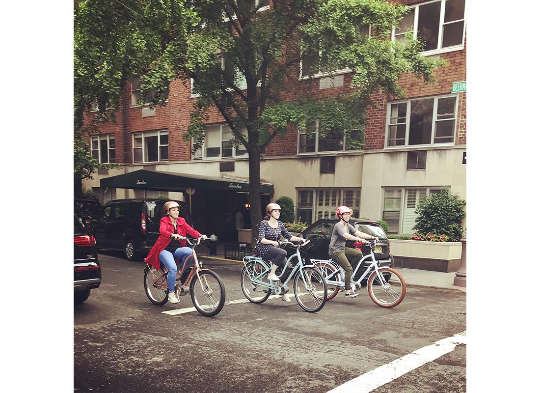 ebike team ride