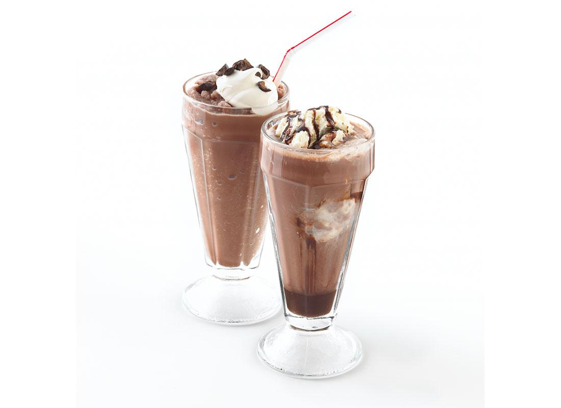 dessert-like coffee drinks