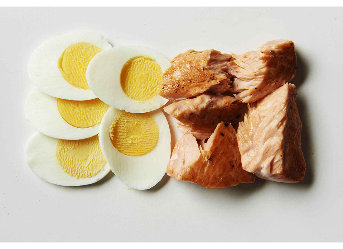 eggs and salmon for vitamin d