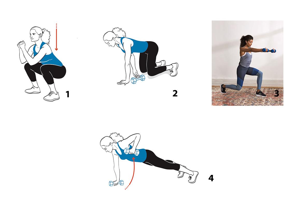 strength circuit exercises