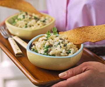 Risotto With Peas And Prosciutto