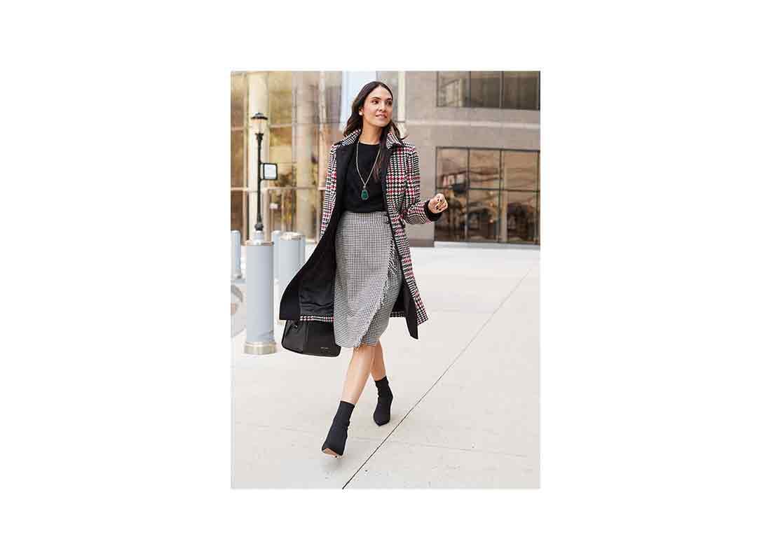 girl boss coat