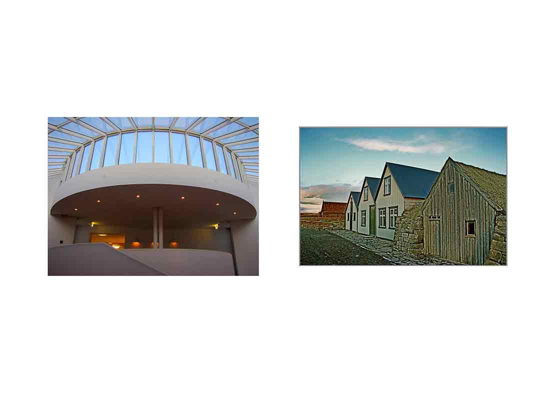 Ásmundarsafn and Arbaer museums in Iceland