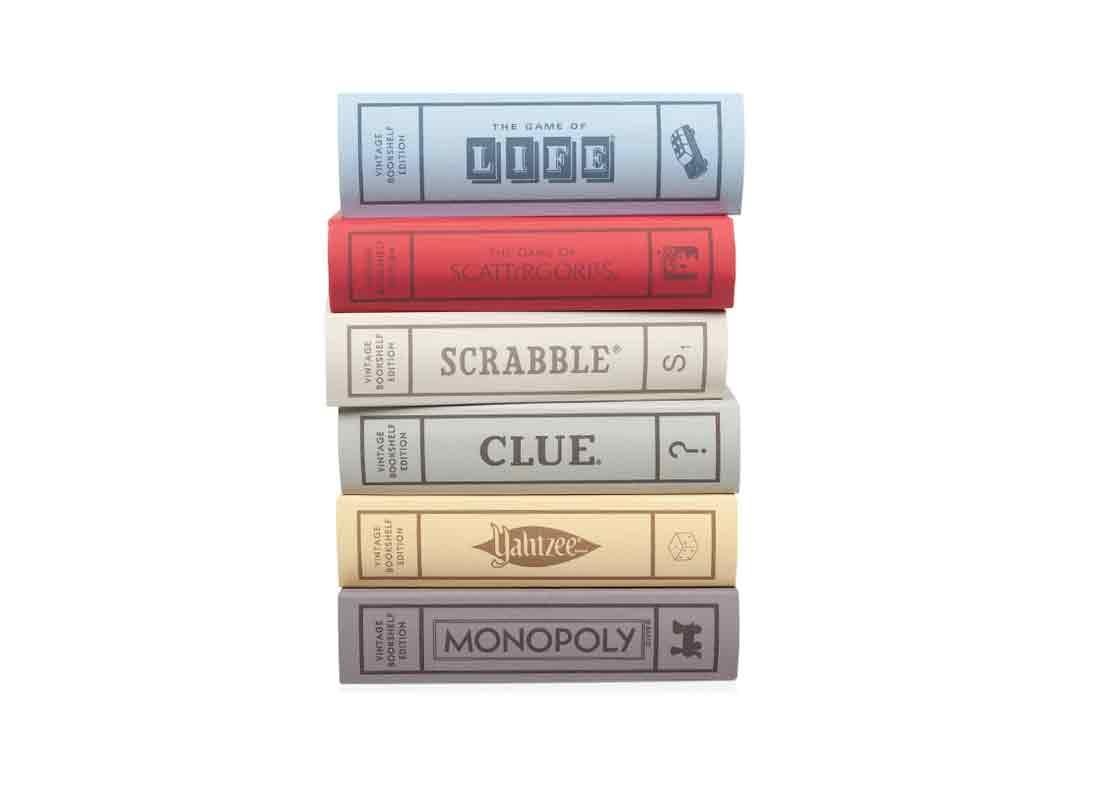 Bookshelf Board Games